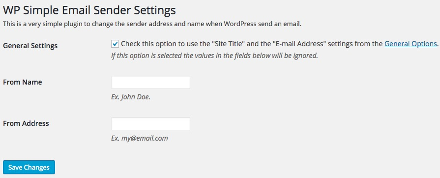 WP_Simple_Email_Sender_Settings
